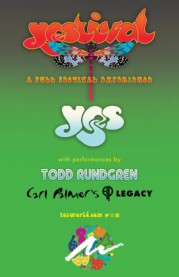 YEStival: YES with special guests Todd Rundgren & Carl Palmer's ELP Legacy