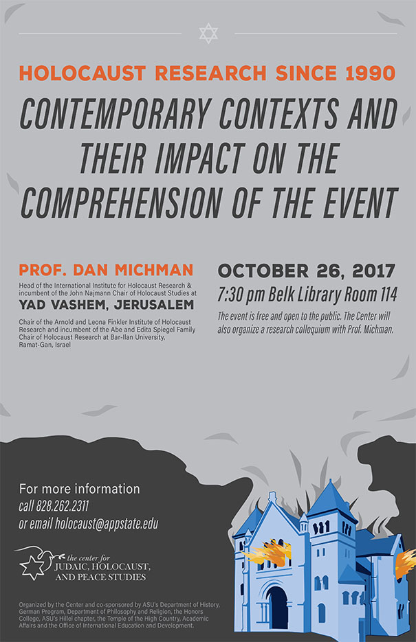 Professor Dan Michman: Holocaust Research Since 1990: Contemporary Contexts and Their Impact on the Comprehension of the Event