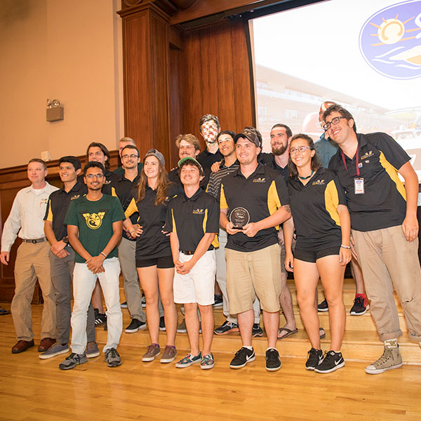 Appalachian State solar vehicle places second in international track race