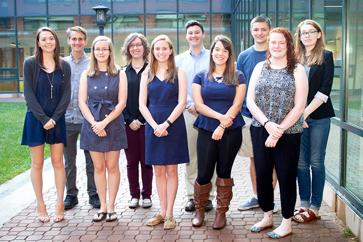 Meet the 2016 Chancellor's Scholars