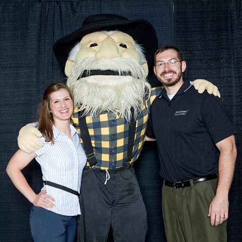 Staff with Yosef