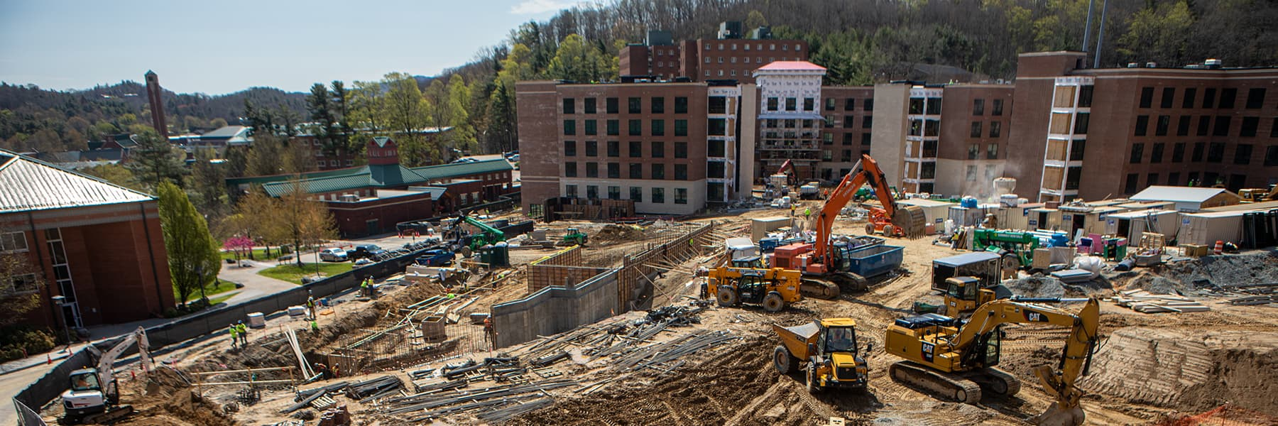 Residence halls construction