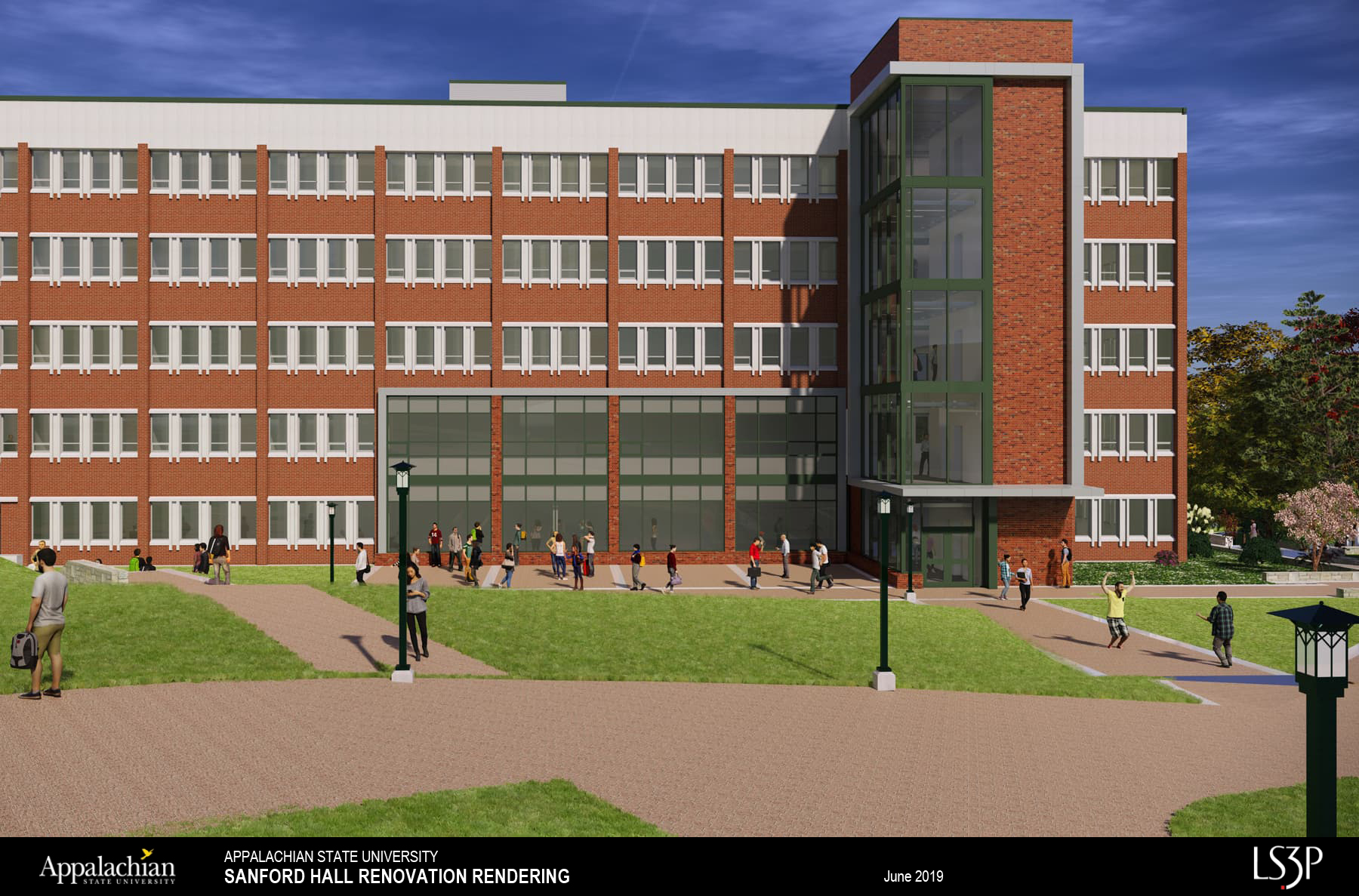 Sanford Hall Renovation Proposed Design