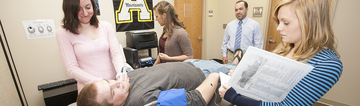 Appalachian State University / Exercise Science (BS) - Clinical ...