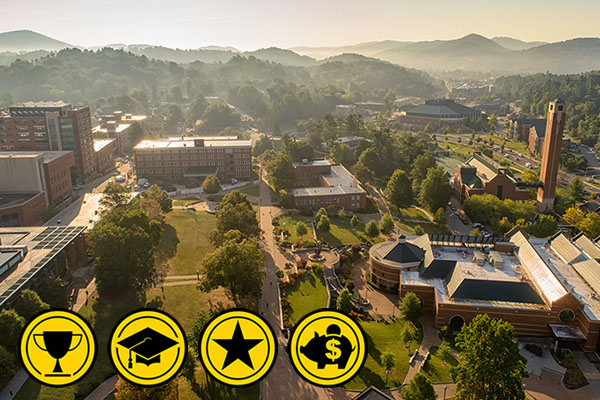 App State Ranked A Best By 5 National Publications Appalachian Today